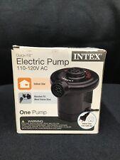 Intex Quick-Fill AC Electric Air Pump, 110-120 Volt - NEW