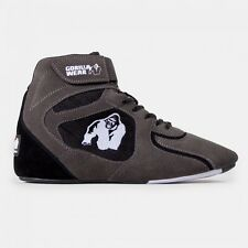 "Gorilla Wear Chicago High Tops - Gray/Black  ""Limited Edition"""