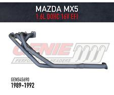 GENIE Headers / Extractors for Mazda MX5 (1989-1992) 1.6L EFI DOHC 16 VALVE