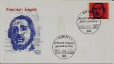 BRD FDC MiNr 657 (20) 150. Geburtstag von Friedrich Engels -Publizist-Sozialist-