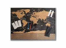 World Scratch Off Map by Strollic-Large Premium International Wall Poster Gift f