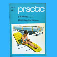 DDR practic 2/1968 Campingliege Sonnenuhr Bootsanhänger Stroboskopscheibe B
