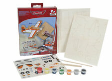 Plane Wooden Disney Planes Set Make Your Own With Paints Holiday Fun For Kids