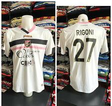 Maglia U.S. PALERMO calcio football shirt MATCH WORN Joma 2014 2015 27 RIGONI