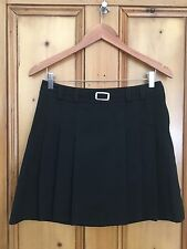 M&S x2 bundle black school skirt W28 &W29 and a half with  adjuster buttons