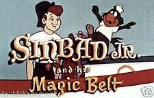 SINBAD JR & HIS MAGIC BELT 1960's TV CARTOON COLLECTION 5 DISC SET NO DVD CASE