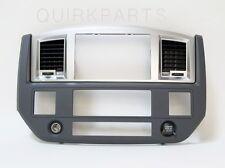 2006-2009 Dodge Ram Radio Dash Bezel SLATE GRAY MOPAR GENUINE OEM BRAND NEW