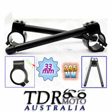 For Yamaha SRX-250 T/TC COHB-033-BK 33 mm CNC Black Tube Clip-On Ons Handlebars