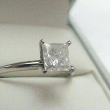 PLATINUM Diamond  Princess Ring, $3350