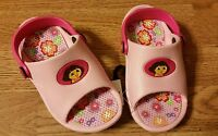 NWT Dora the Explorer Pink Sandals Shoes Toddler Size 5/6 , 9/10 New