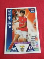 JOAO FELIX BENFICA PORTUGAL ROOKIE CARD TOPPS #SLB11 EXCLUSIVE PORTUGAL