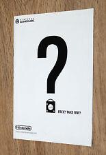 Nintendo Werbung Ad Flyer GameCube GBA Kirby Donkey Kong Zelda Resident Evil etc
