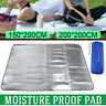 Sleeping Mattress Pad Waterproof Aluminum Foil EVA Outdoor Camping Picnic Mat