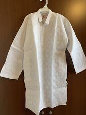 Lucknowi Chikankari White Kurta Pajama Set Cotton Boys Sz 7-8 Yr Old Eid Indian
