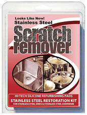 SIEGE SCRATCH REMOVER PADS for Stainless Steel Sinks & Cookware Restoration Kit