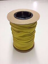 WELT CORD VINYL SUPREME YELLOW MARINE FAUX LEATHER AUTO BOAT UPHOLSTERY TRIM BTY