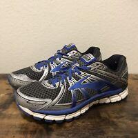 Brooks Adrenaline GTS 17 Men's Blue Silver Running Shoes Size 9 (1102411D017)