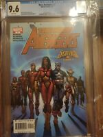 New Avengers #7 CGC 9.6 NM+ White Pages - 1st Appearance Illuminati - 2005