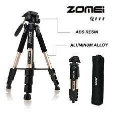 ZOMEI Q111 Professional Aluminium Travel Tripod&Pan Head Portable for SLR Camera