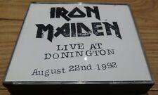 Iron Maiden Live At Donington Fatbox 1993 CD  Rare EMI Holland Press EX