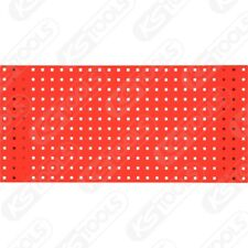 KS Tools Lochplatte-verkehrsrot, 1000x450mm 860.0890VR Stahlblech Lochplatte