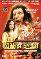 TURKEY SHOOT - OZPLOITATION GENUINE AUSTRALIAN RELEASE R4 DVD RARE OOP AS NEW