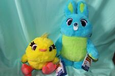 Disney Store Toy Story 4 TALKING Bunny & Ducky PLUSH Rare HTF Bunny is Recalled