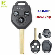 3 Button Keyless Entry Remote key FOB 433MHz 4D62 for Subaru Forester 2008-2010