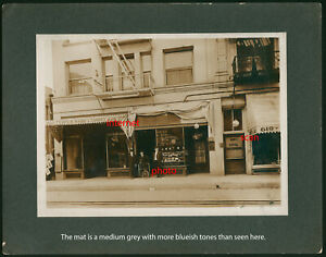2 Old Photos,Weird Wheelchair,M Barber Jewelry Shop,Los Angeles,California,Hotel