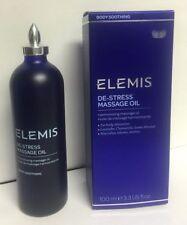 Elemis Spa at home De-Stress Massage Oil  Body Soothing 100 ml 3.3 fl. Oz.