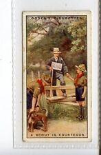 (Jc3333-100)  OGDENS,BOY SCOUTS,A SCOUT IS COURTEOUS,1929,#19