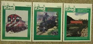 TALL TIMBER SHORT LINES Magazine, 31 Issues, 1996 - 2006, ** You choose **