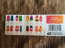"""Frozen Treats - Forever Postage Stamp """"Scratch-and-Sniff"""" Sheet of 20 stamps"""