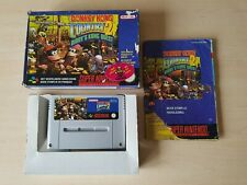 SNES SUPER NINTENDO BOXED CIB - DONKEY KONG COUNTRY 2 : DIDDY'S KONG QUEST PAL