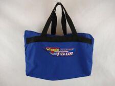 Wrangler Pro Rodeo Tour PRCA Duffel (Duffle) Bag Blue Zipper