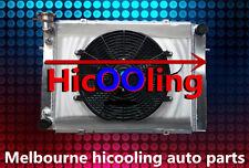 3 CORE Aluminum Radiator + Shroud +Thermo fan for HOLDEN VG VL VN VP VR VS V8