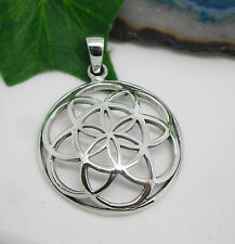 Blume des Lebens - Anhänger - Silber - flower of life pendant - Ø 2,9cm