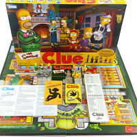 The Simpsons Clue Board Game Second Edition Collectible Miniatures 100% Complete