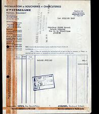 """AVIGNON (84) INSTALLATION de BOUCHERIE & CHARCUTERIE """"RESSEGAIRE / BOURRET Succ"""""""