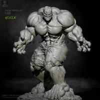 1/24 75MM Resin Figure Unpainted  Model Kit Angry Hulk Resin Figure  Unassembled