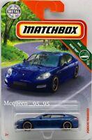MATCHBOX 2018 MBX ROAD TRIP PORSCHE PANAMERA BLUE