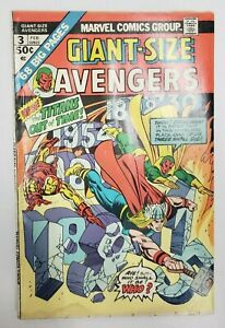 Giant-Size Avengers #3 - Kang & Zemo appearance - Titans Out of Time!  (a8)