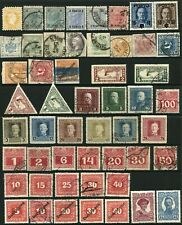 AUSTRIA Collection Postage Due Newspaper Stamps SPECIAL HANDLING Military