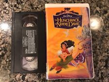 The Hunchback Of Notre Dame VHS! 1966 Drama! Hercules A Goofy Movie Mulan
