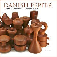 Danish Pepper: Jens Quistgaard's Teak Pepper Mills BOOK