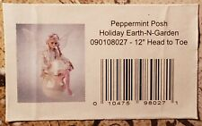 "Whispering Willow Fairies ~ Peppermint Posh ~ Earth & garden Fairy Doll 12"" Mib"