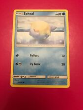 49/236 Spheal / Pokemon Card Game / TCG / SM-12 / Cosmic Eclipse