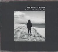 MICHAEL SCHULTE / YOU LET ME WALK ALONE * NEW SINGLE CD 2018 * NEU *