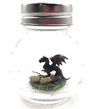 New listing World's Smallest Dragon Pet Miniature Diorama Black with Adoption Certificate