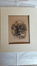 Myles Birket Foster late 19th century print